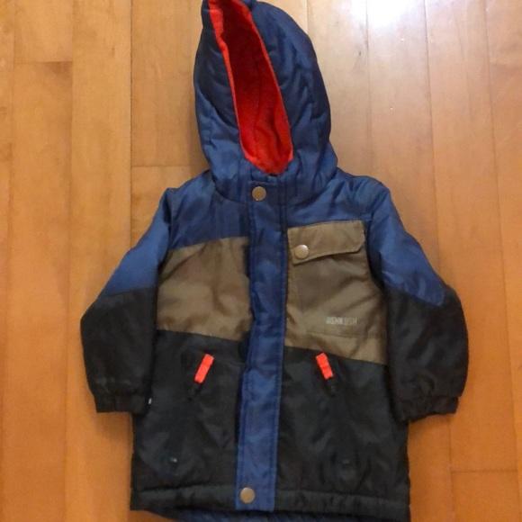 Osh Kosh B/'gosh Infant Girls Navy Puffer Jacket Size 12M 18M 24M